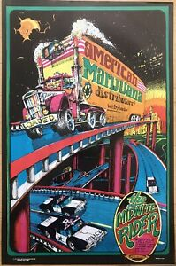 Midnite Rider 1973 Original Weed Pot 23 X 35 Poster