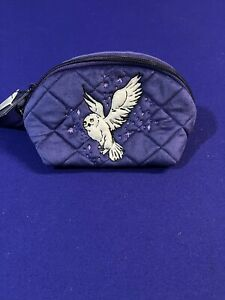 Vera Bradley HARRY POTTER FORBIDDEN FOREST w/Hedwig Cosmetic Pouch Bag New