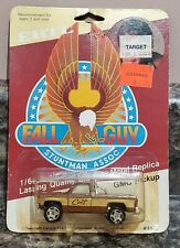 Ertl The Fall Guy GMC Pickup Truck 1:64 1982 Vintage NEW ON BUBBLE CARD