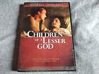 CHILDREN OF A LESSER GOD DVD Marlee Matlin / Made In USA