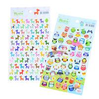 Cute Lovely 3D Bubble Stickers Kawaii Cartoon Animal Sticker Kids Toy Gift SP