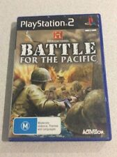 Battle For The Pacific Sony PlayStation 2 Console Game PAL PS2