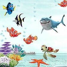 Finding Nemo Wall Stickers Kids Girl/boy Nursery Sea Fishes Childrens Room Decor