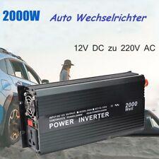 Autoinverter Spannungswandler 2000W12V 220V Wechselrichter Softstart CE E8 OVP