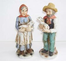 Figurine Unmarked Decorative Porcelain & China