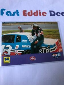 1992 FOOD LION BRAND RICHARD PETTY RACE CAR DRIVER CARD 34 MAY STP EXCELLENT