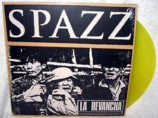 SPAZZ La Revancha LP PUNK ROCK Thrash HARDCORE Translucent Yellow Vinyl INFEST x