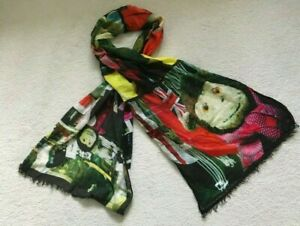 Paul Smith PS Mr Brown Printed Square Scarf Adventure No. 2