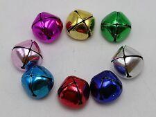 20 Mixed Colors Christmas JINGLE BELLS Beads Charms 19mm for Pet Dog Colllar