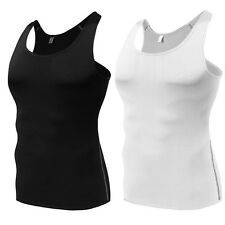 Powerful Men Slimming Body Shaper Vest Slim Chest Belly Waist Boobs Compression