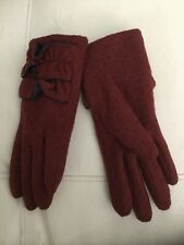 NEW Anthropologie Classina Polka Dot Winter Driving Gloves by STCN Madrid