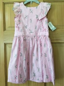 NWT Carter's Bunny Dress Toddler Easter Girls many sizes