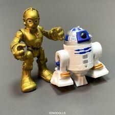 R2D2 & C3PO Droid Playskool Star Wars Galactic Heroes 2.5'' Action Figures Toys