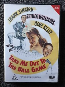 TAKE ME OUT TO THE BALL GAME - FRANK SINATRA DVD - FREE POST