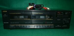 AIWA AD-WX505U Dual Stereo Cassette Tape Deck Tested Working