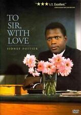 To Sir, With Love New Dvd