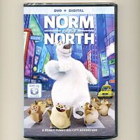 Norm of the North 2016 PG animated family movie, new DVD, polar bear, Dove appr
