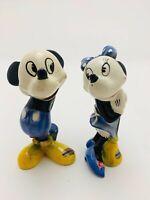 Vintage 1940s Disney Mickey & Minnie Mouse Figurines