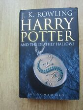 Harry Potter and the Deathly Hallows First Edition 2007 Hardback Adult