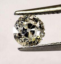 loose SI3 K .51ct European Circular cut round diamond vintage antique estate