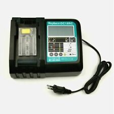 DC18RCT Battery Charger 3A for Makita 14.4V 18V BL1830 Bl1430 DC18RC Power tool