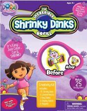 **NEW** SHRINKY DINKS REFILL SET- DORA THE EXPLORER--MAKES 25 SHRINKY DINKS