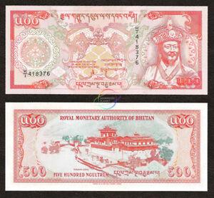 BHUTAN 500 Ngultrum 1994 P-21 Commemorative UNC Uncirculated