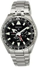 SEIKO PROSPEX Watch Mechanical GMT Function Titanium Model SBEJ001 Men's