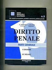 Bartone-Delpino # DIRITTO PENALE # Parte Generale # Edizioni Simone 1994