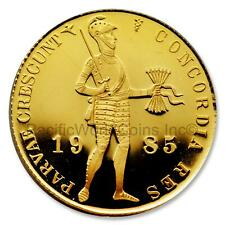 Netherlands 1985 Ducat Gold Proof Coin SKU# 7343