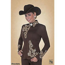 Chocolate Brown Western Showmanship Outfit Hobby Horse Larissa Small