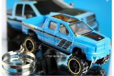 Custom Key Chain Dodge Ram 1500 Off Road Pickup blue