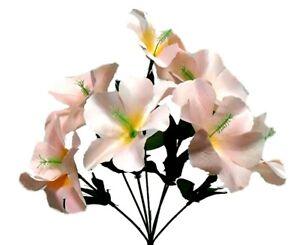 5x Hibiscus Artificial Silk Flowers Centerpiece Fake Faux Bouquet Party Tropical