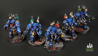Chaos Space Marines Terminators ** COMMISSION ** painting WARHAMMER 40k