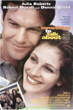 SOMETHING TO TALK ABOUT MOVIE POSTER Original DS 27x40 JULIA ROBERTS 1995