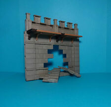 Playmobil Knights/caballero ~ muro por rotura/break away Castle wall (7288, a 3666)