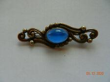 vintage Margot de Taxco, silver and cabochon brooch