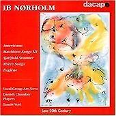 NORDHOLM: AMERICANA OP89; FUGLENE OP129 NEW CD