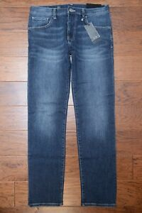 Armani Exchange A X Mens Relaxed Straight Fit Stretch Cotton Jeans 30R W30 L32