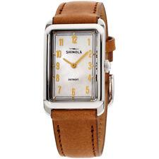 Shinola Мальдони перламутровым циферблатом, кожаным ремешком женские часы S0120109240