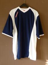 Men's Surridge Short Sleeve Training T Shirt Navy / White Size Medium - New
