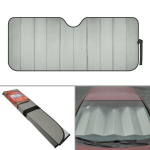 UV Protection Auto Sun Shade Fold-able Visor for Car Truck SUV Windshield