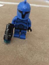 Lego Star Wars Mini Figure Blue Trooper With Blasting Gun