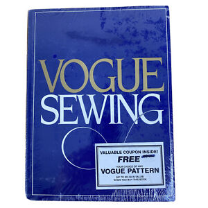Vogue Sewing Vintage 1982 Hard Cover New - Sewing School in a Book Butternick