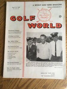 Vintage 1959 Golf World Magazine-Masters-Augusta National