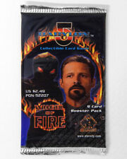 Babylon 5 CCG Wheel of Fire Edition 9-Card Booster Pack Sealed New Game