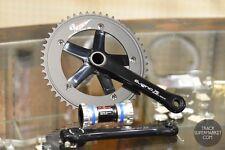 Sugino 75 DD (Direct Drive) Track Crank + Chain Ring Set - Black or Silver - Zen