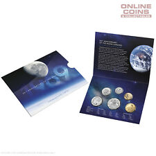 2019 RAM UNCIRCULATED SIX COIN YEAR SET - 50TH ANNIVERSARY OF THE MOON LANDING