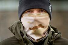 New Neck Gaiter Scarf Face Mask Balaclava in Multicam Arid