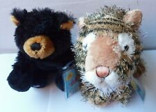 WebKinz - HN032 Tiger & HS004 Black Bear
